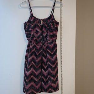 Xhilaration, ruffle, zipper dress